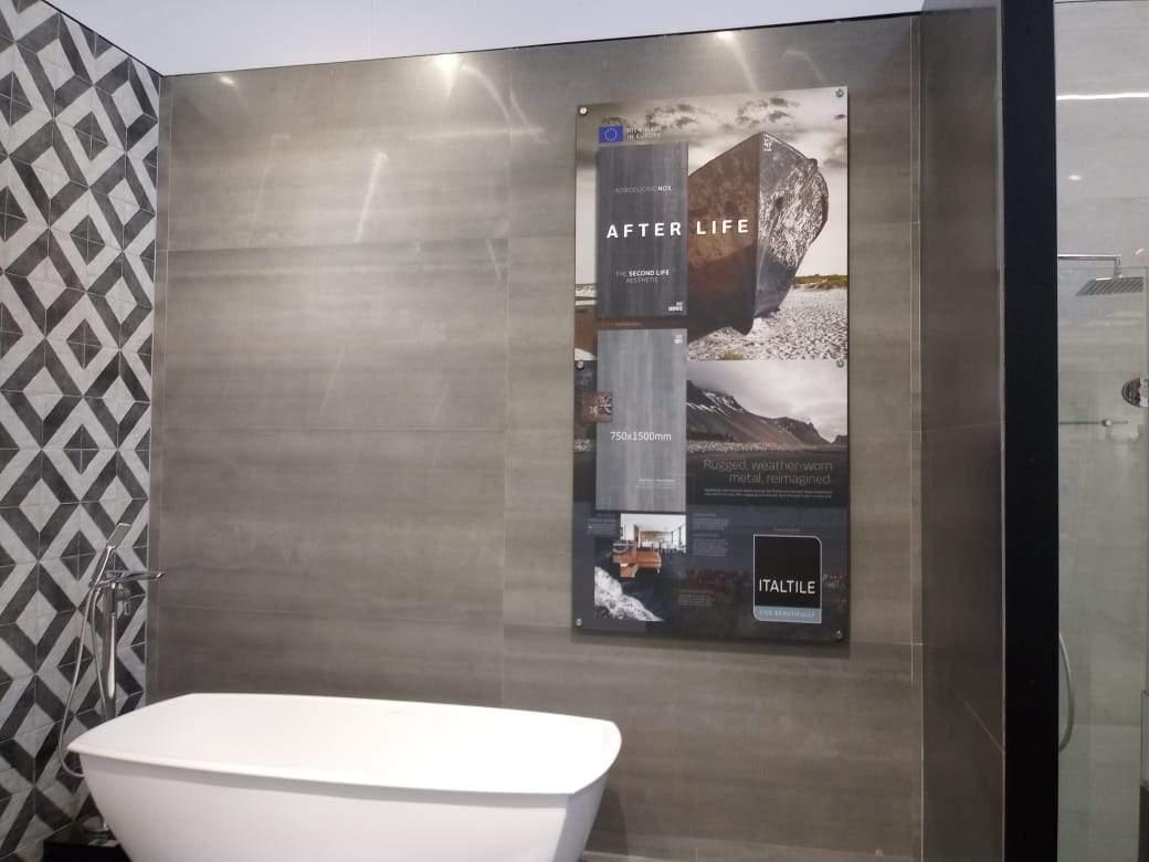 Perspex Wall Sign 1000mm x 1000mm - brandexper