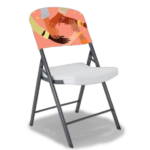 Plastic Folding Chair - brandexper