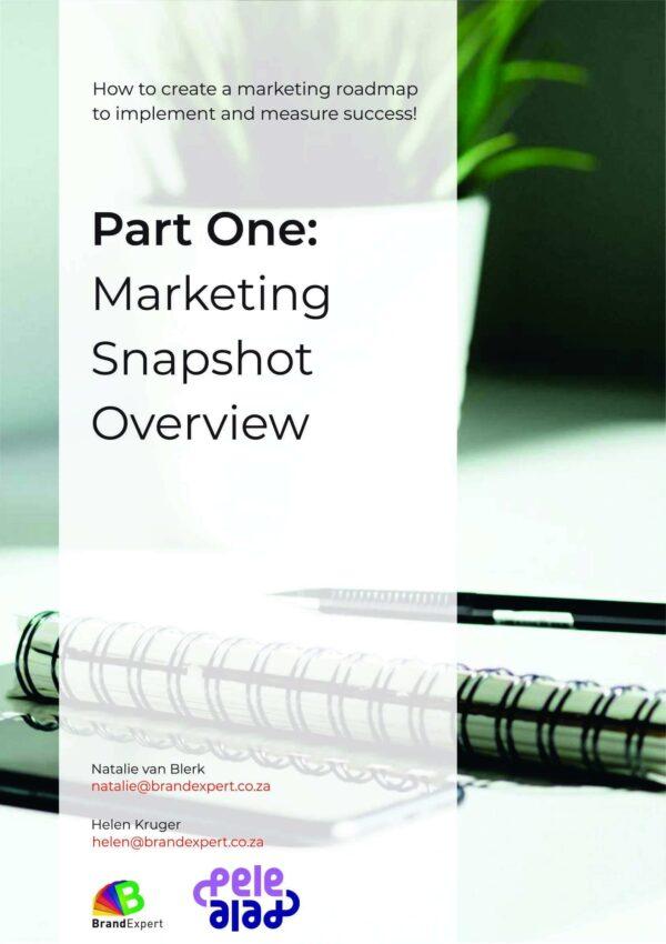 Marketing Snapshot EBook 1 - brandexper