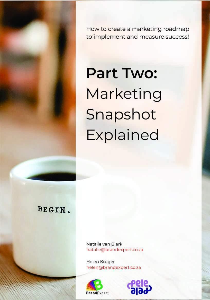Marketing Snapshot EBook 2 - brandexper