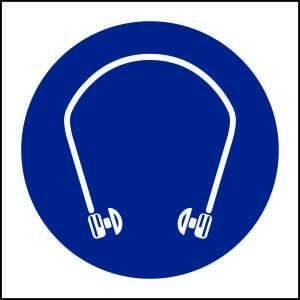 MV19- Hearing Protection must be worn - brandexper