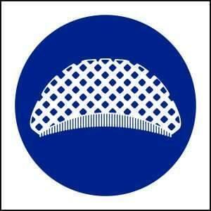 MV26- Hair Nets must be Worn - brandexper