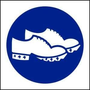 MV27- Conductive Shoes must be Worn - brandexper