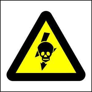 WW23- Beware of Exposed Live Voltage Equipment - brandexper