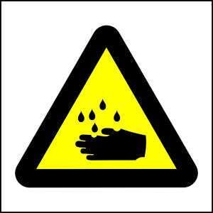 WW4 - Be Ware of Corrosive Hazard - brandexper